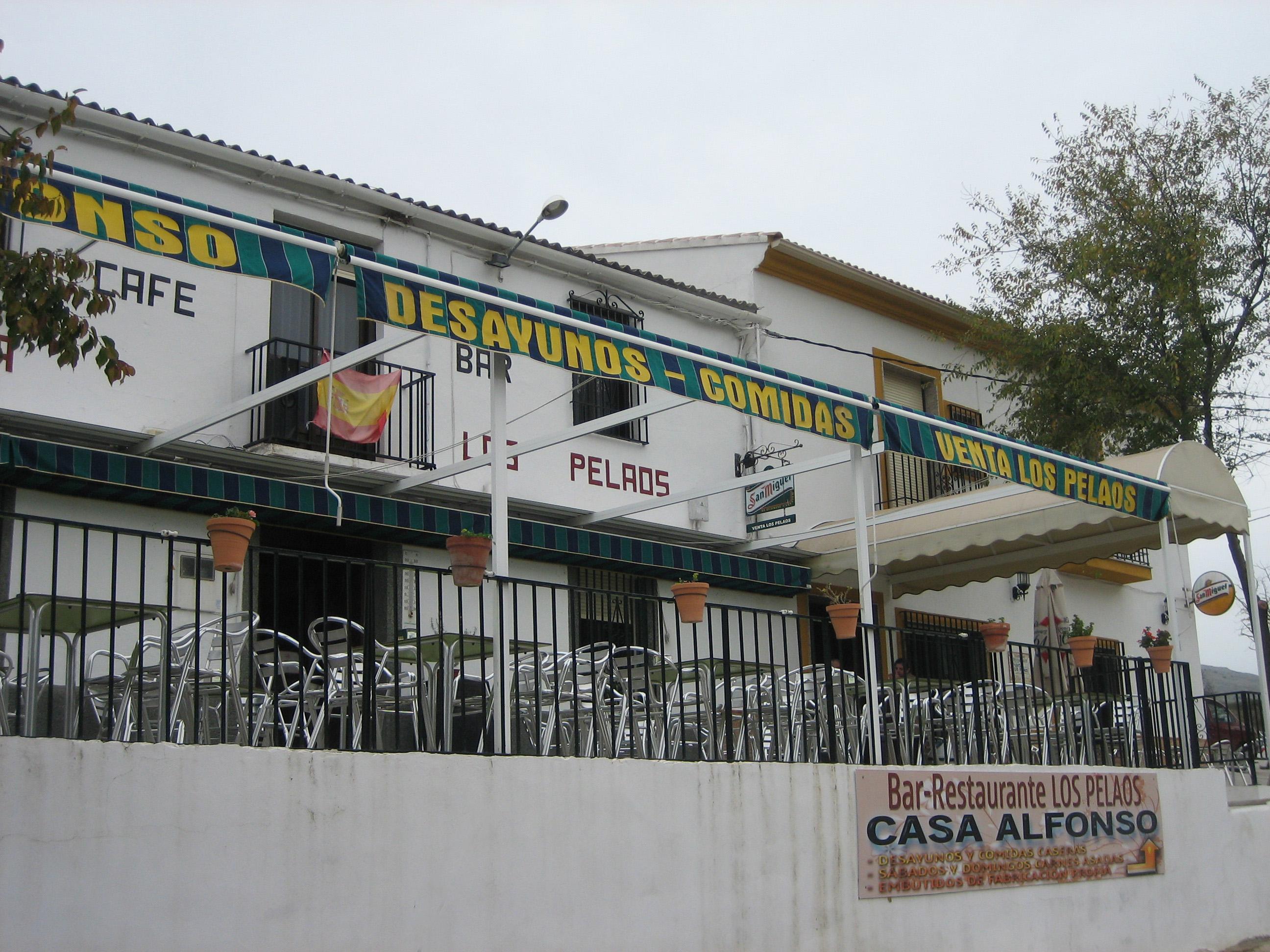 Restaurante Los Pelaos  Olor Andaluz