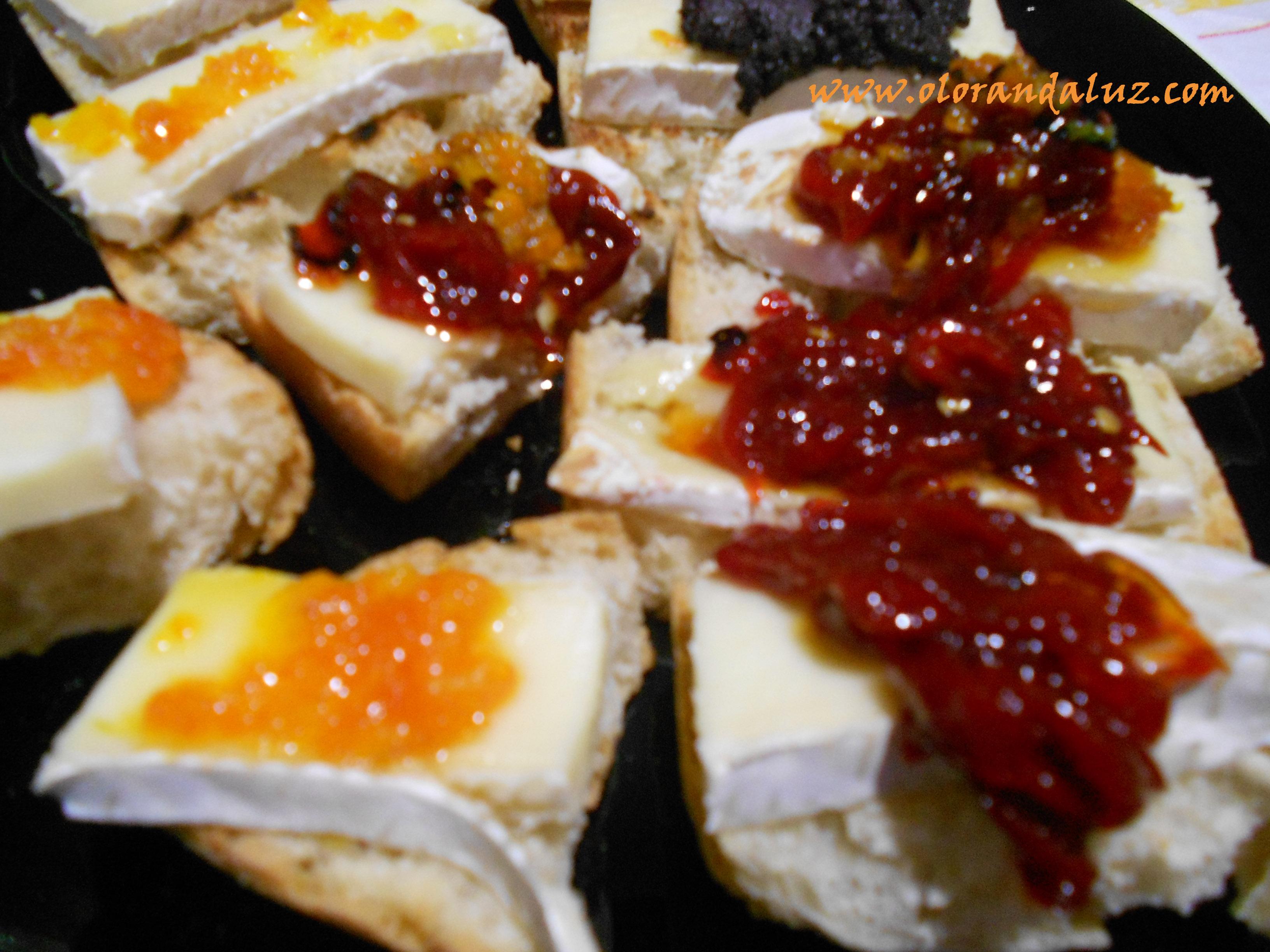 recetas de tapas con queso brie