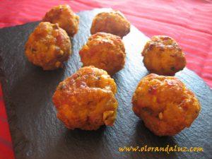 Albondigas fritas olor andaluz - Albondigas tradicionales ...