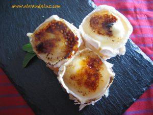 Milhoja-carne-membrillo-queso-cabra-gratinado