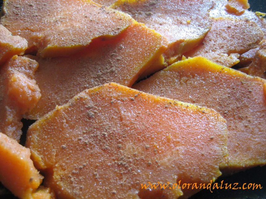 Batata o boniato cocido