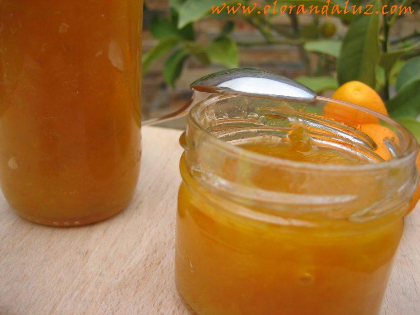Mermelada de naranjas chinas o kumquat