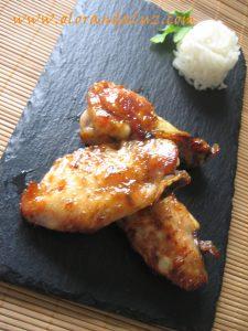 Alitas-al-horno-con-curry- miel-y-canela