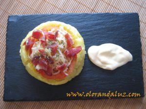 Minipizzas-patata-jamonserrano-tomate-queso-#RetoCanalCocina