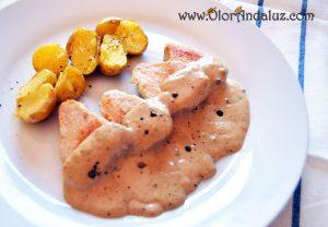 pollo-con-salsa-a-la-pimienta