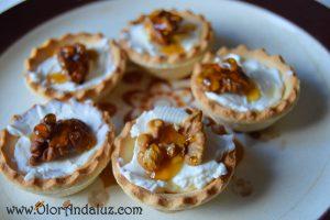 Canape-queso-nueces-miel