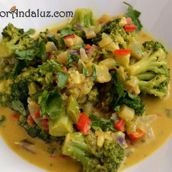 Brócoli especiado