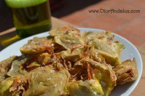 Alcachofas fritas