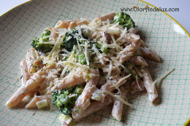 Macarrones con brocoli